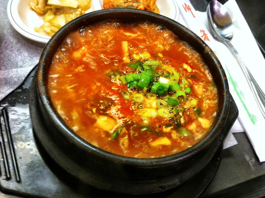 Korean Chicken Stew Korean Kimchi Pork Tofu Stew