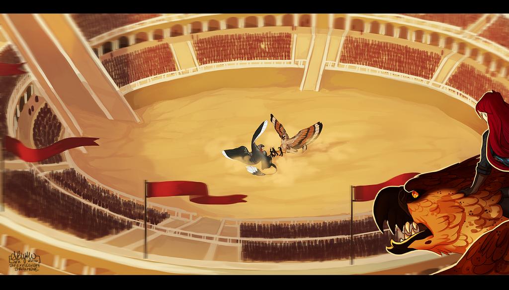 Arena 2 By Apexplegian-da0mm5u by ashenantlers