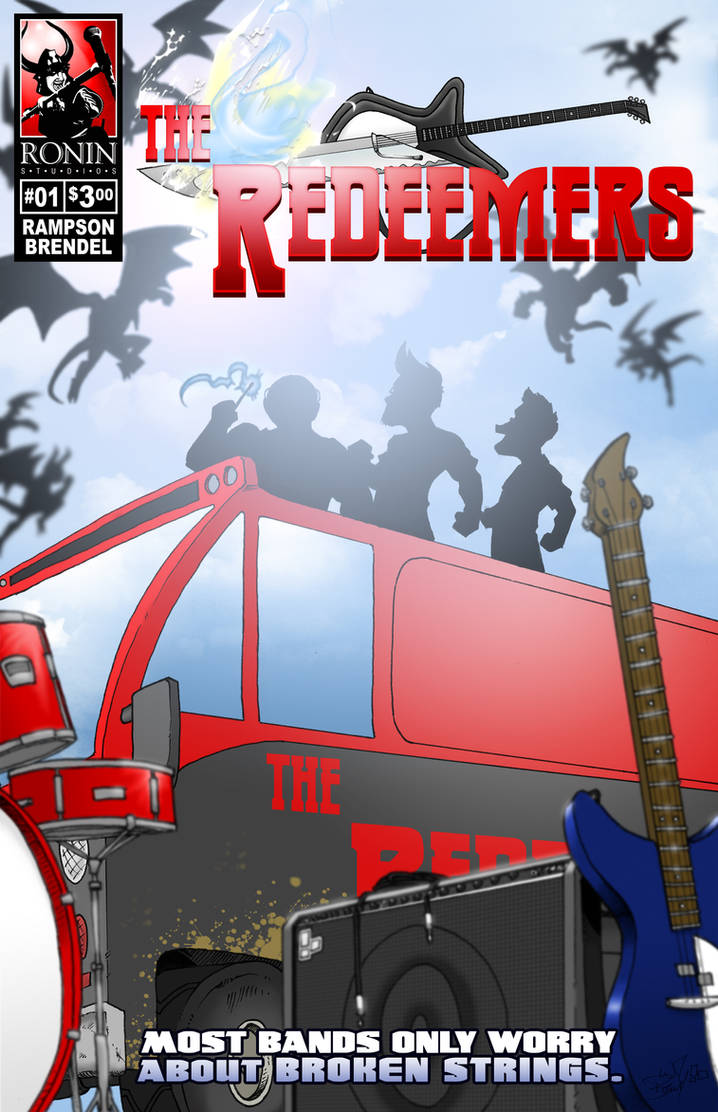 The Redeemers No. 1 cover