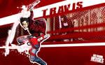 Travis Touchdown wallpaper