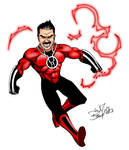 Angry Joe Red Lantern by wheretheresawil