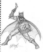 Batman sketch by wheretheresawil