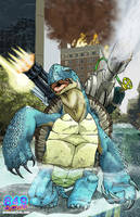 649 Monsters - Blastoise by wheretheresawil