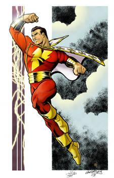 Captain Marvel colors