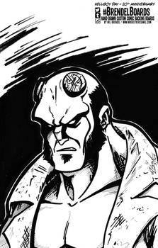 Brendel Board #12 - Hellboy (Day)