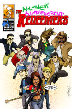 The Redeemers #5 cover