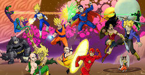 DBZ vs Justice League