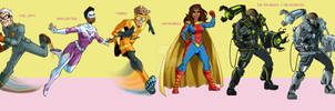 Ain't Love Super? character lineup