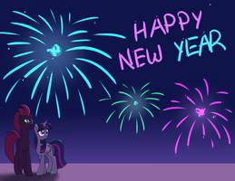 Happy new year! by Azura-Arts