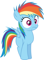Rainbow Dash what gives