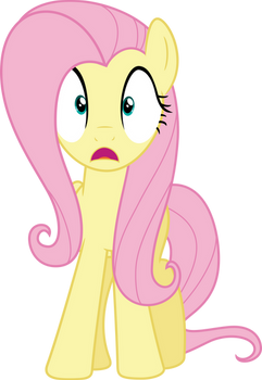Fluttershy wide-eyed