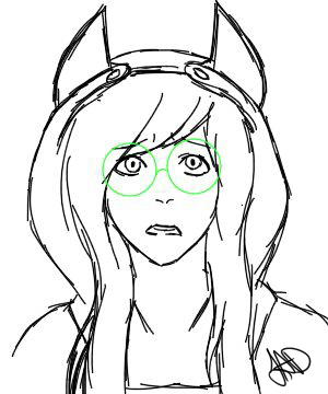 Jade sketch by MayMay77