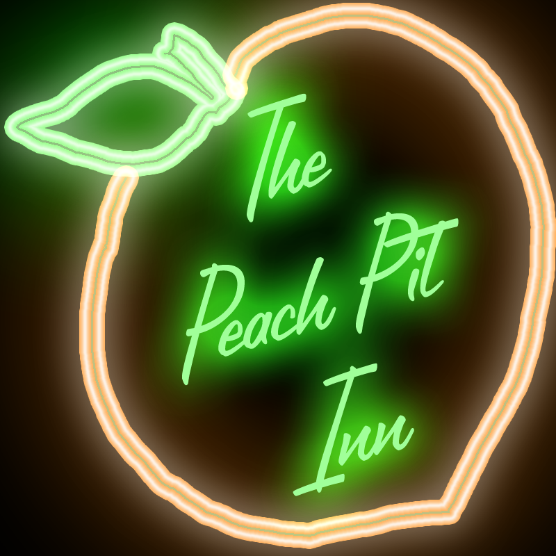 Peach Pit Inn Sign by FluidGirl82 on DeviantArt