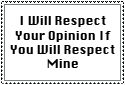 Respect Opinions Stamp by FluidGirl82