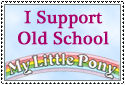 Old School MLP Stamp