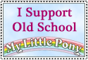 Old School MLP Stamp by FluidGirl82