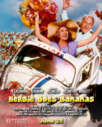 Poster Spoof-Herbie Goes Bananas