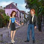 Modernized Belle and Adam