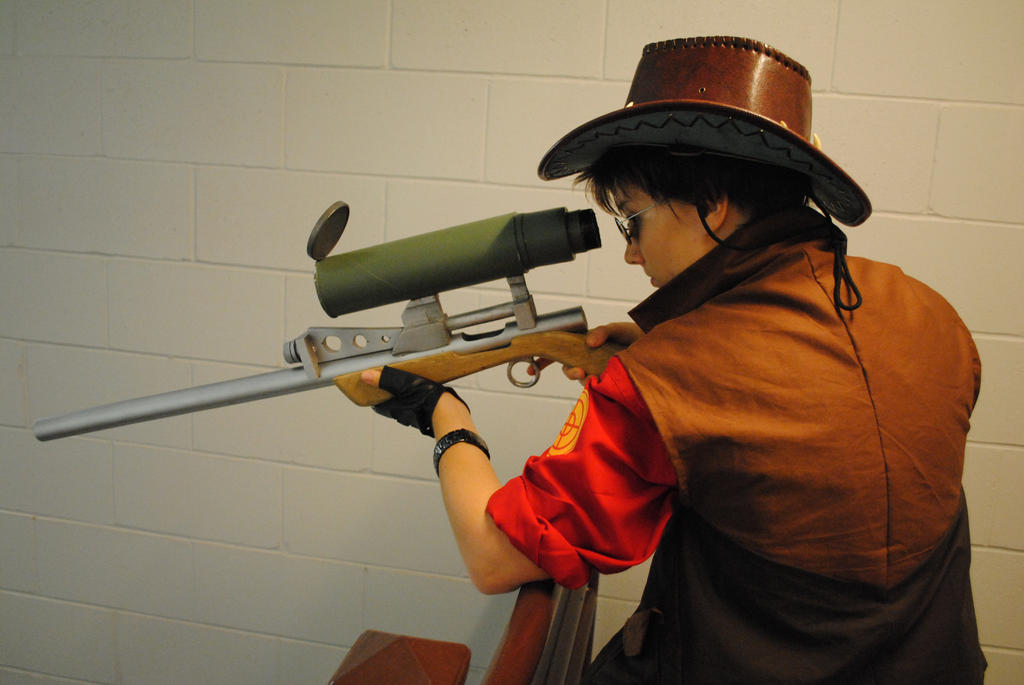 Sniper_ShadoCon2 side by SeiakuCosplay