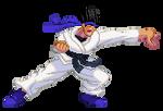 SF3-styled Kung-Fu Man