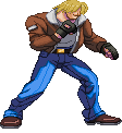 SF3-styled Terry Bogard by Balthazar321
