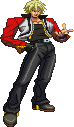 SF3-styled Rock Howard by Balthazar321