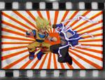 Goku vs Bluestreak