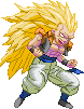 SF3-styled SSJ3 Gotenks by Balthazar321