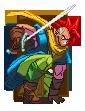 SF3 Tapion with Chrono Trigger Chrono palette by Balthazar321