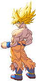 SF3-styled SSJ Goku Freeza Saga by Balthazar321