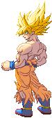SF3-styled SSJ Goku Freeza Saga by Balthazar321