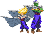 SF3-styled Mystic Tribe group sprite!