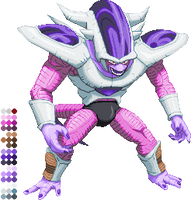 CPS3-ish Frieza form 3 by Balthazar321