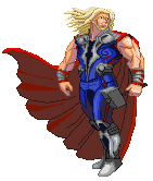 Thor Avengers movie design CPS3-styled
