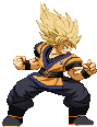 SSJ Goku- Evolution inspired outfit by Balthazar321
