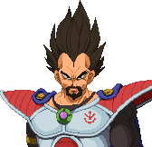 DBZ King Vegeta portrait by Balthazar321