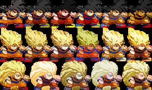 Pocket Goku Party by Balthazar321