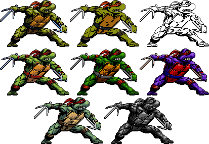 TMNT - Raphael - Comic style (conventional size) by Balthazar321