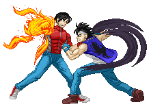 Commission - Ryujin and Takeshi by Balthazar321