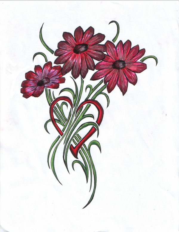 Bouquet from the Heart by ReaperXXIV on DeviantArt