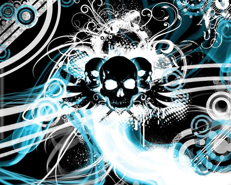 Urban Skulls by ReaperXXIV