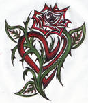 Heart Within a Rose