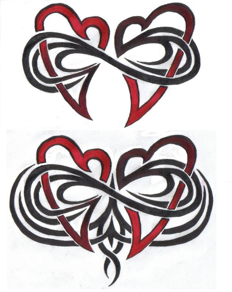 Double infinity tattoo biocorpaavc Choice Image