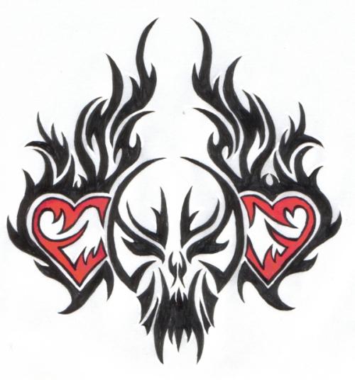 Tribal Death Tattoo: All Tattoo Aurra: Tribal Tattoos Designs,Pictures And Ideas
