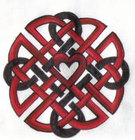 Celtic Heart Knot by ReaperXXIV
