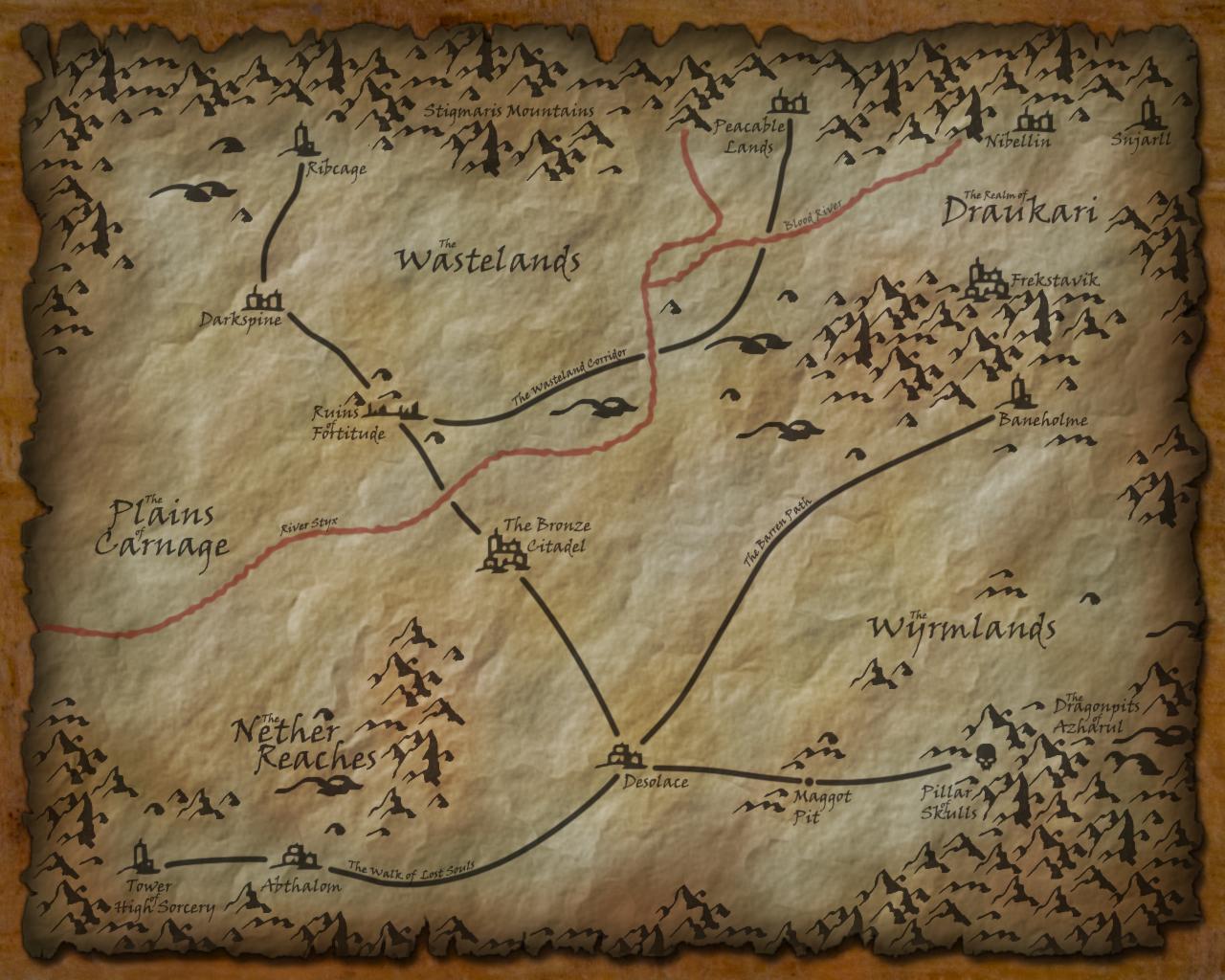 [Região] Avernus - A 1ª Camada dos Infernos de Baator. Avernus__first_layer_of_hell_by_realmarkp