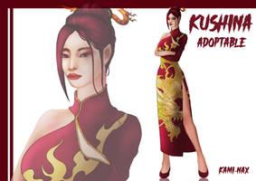 [OPEN] Adoptable Auction - kushina by KAMI-NAX