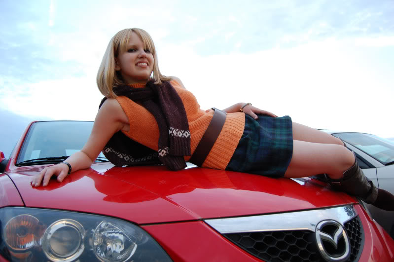 Ashley Graham: Car Model?