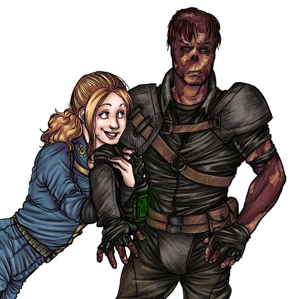 Fallout 3 Bffs Devid By Ladyofrohan87 On Deviantart