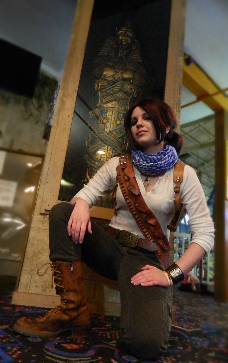 Uncharted 3 Cosplay Genderbent Nathan Drake By Ladyofrohan87